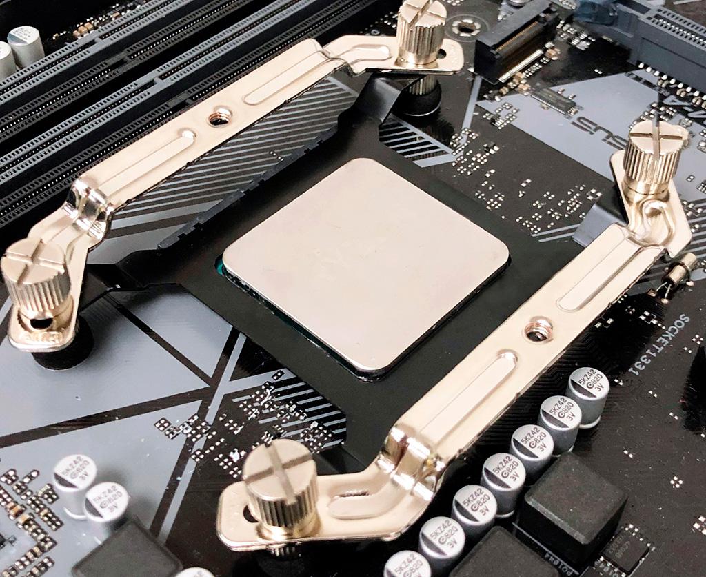 C Gelid CPU Protection Bracket процессор к кулеру не прилипнет