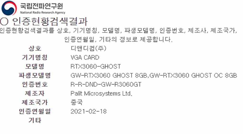 GeForce RTX 3060 6 GB вновь наследила