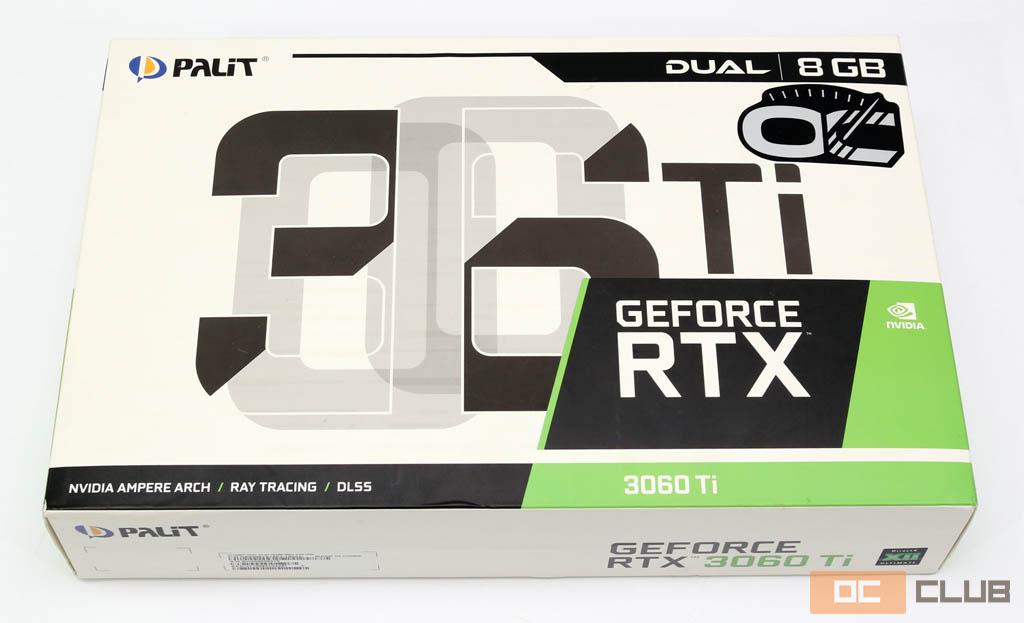 Palit GeForce RTX 3060 Ti Dual OC: обзор. RTX 3070 на минималках