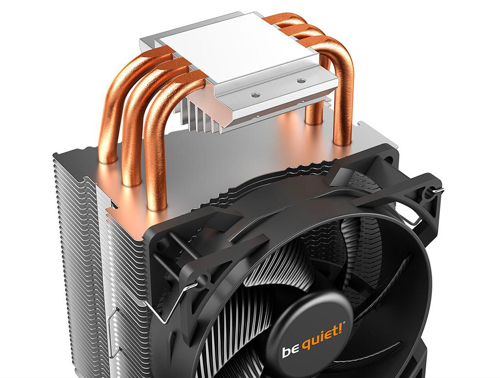 Be Quiet! выпускает кулер Pure Rock Slim 2 для процессоров и радиаторы MC1 для накопителей