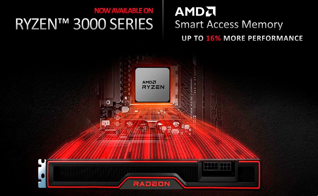 Для материнских плат MSI доступны BIOS с поддержкой Smart Access Memory на Ryzen 3000