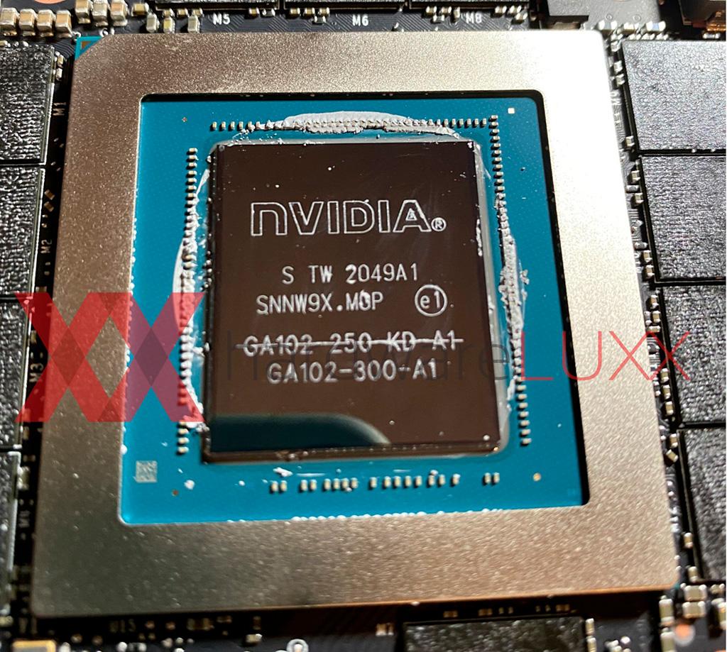 NVIDIA устанавливает в RTX 3090 графические процессоры GA102-250, запланированные для RTX 3080 Ti