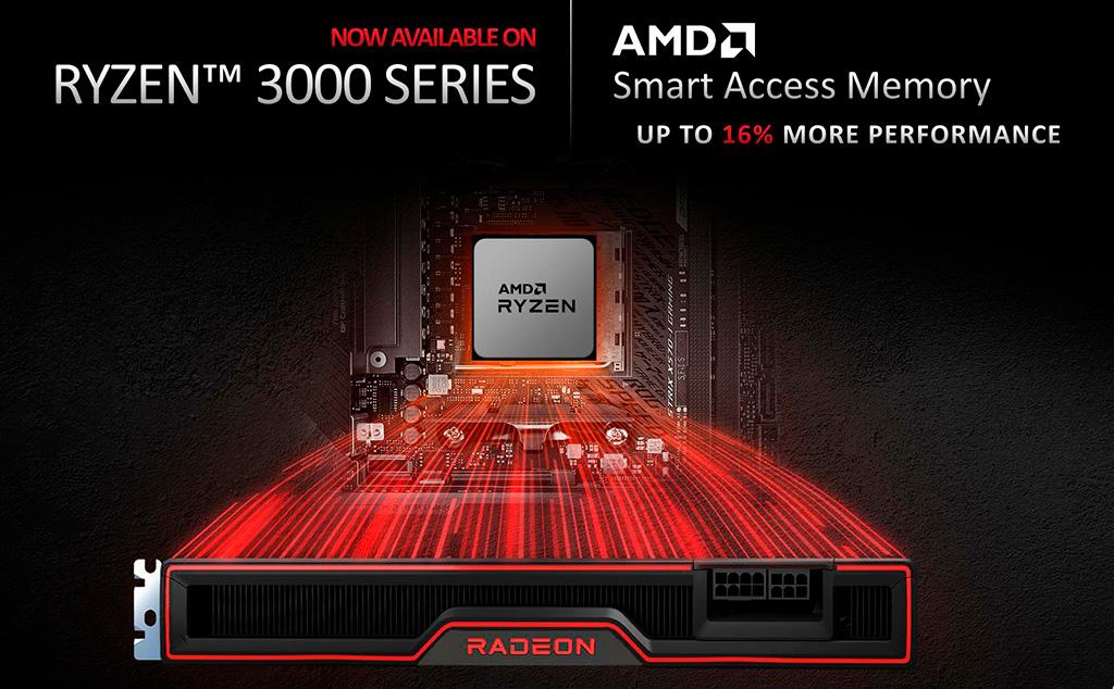 Smart Access Memory будет работать с Ryzen 3000