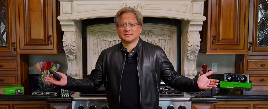 GTC 2021 Дженсен Хуанг вновь проведёт со своей кухни