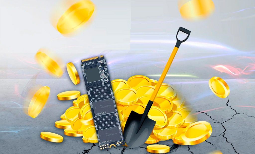 Galax лишает гарантии на SSD-накопители за майнинг Chia