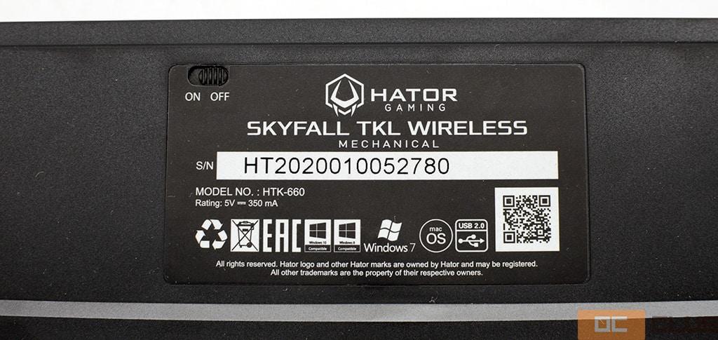 Hator Skyfall TKL: обзор. Почти что безальтернативное предложение