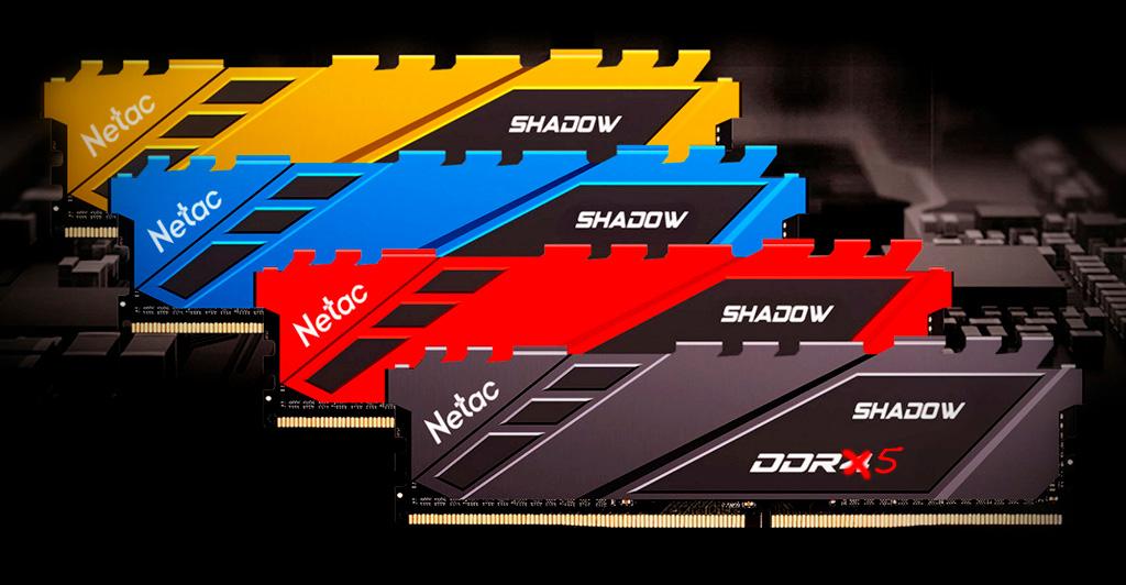 Netac начинает разработку памяти DDR5 с частотой 10 ГГц