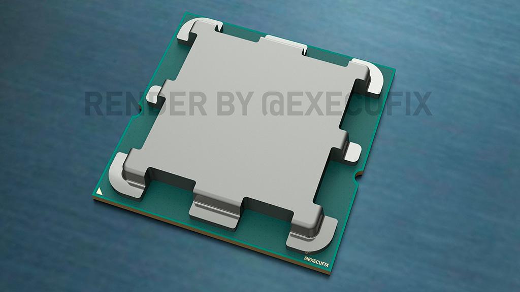 Слух: крышка у процессоров AMD AM5 (LGA1718) будет сильно другая