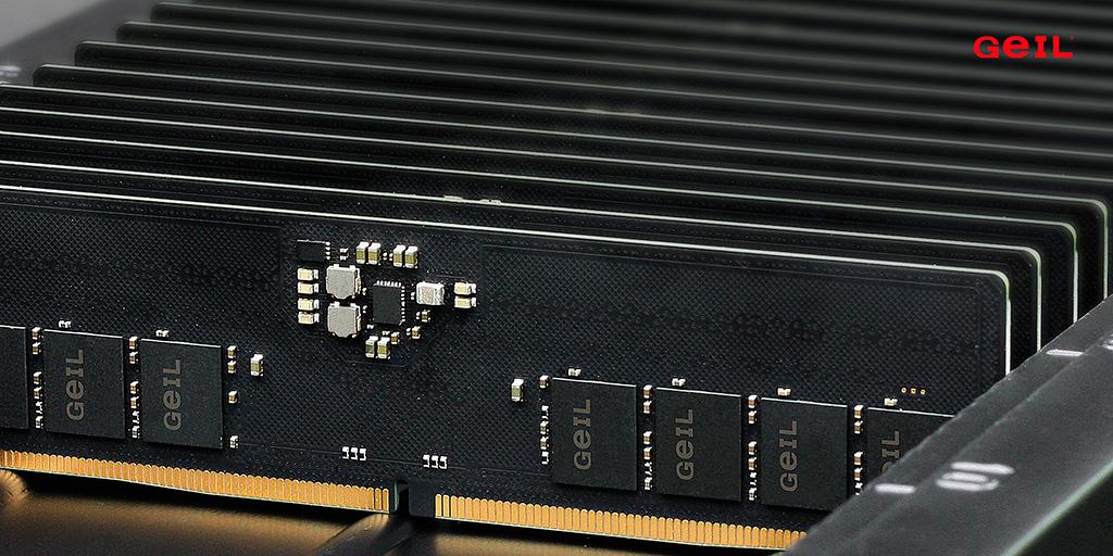 GeIL рассказала о собственной памяти DDR5, пообещав модули DDR5-7200 в этом году
