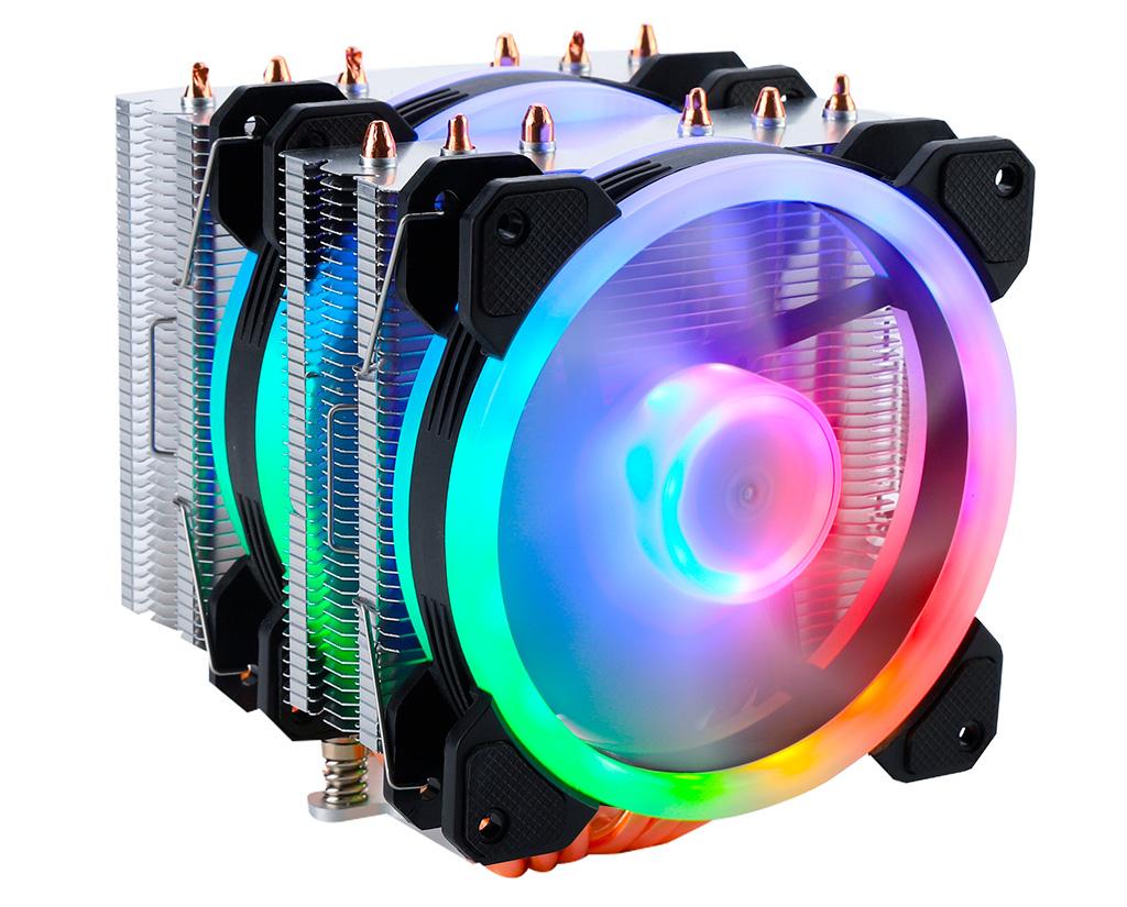 Процессорный кулер Gelid Glacier RGB оценён в