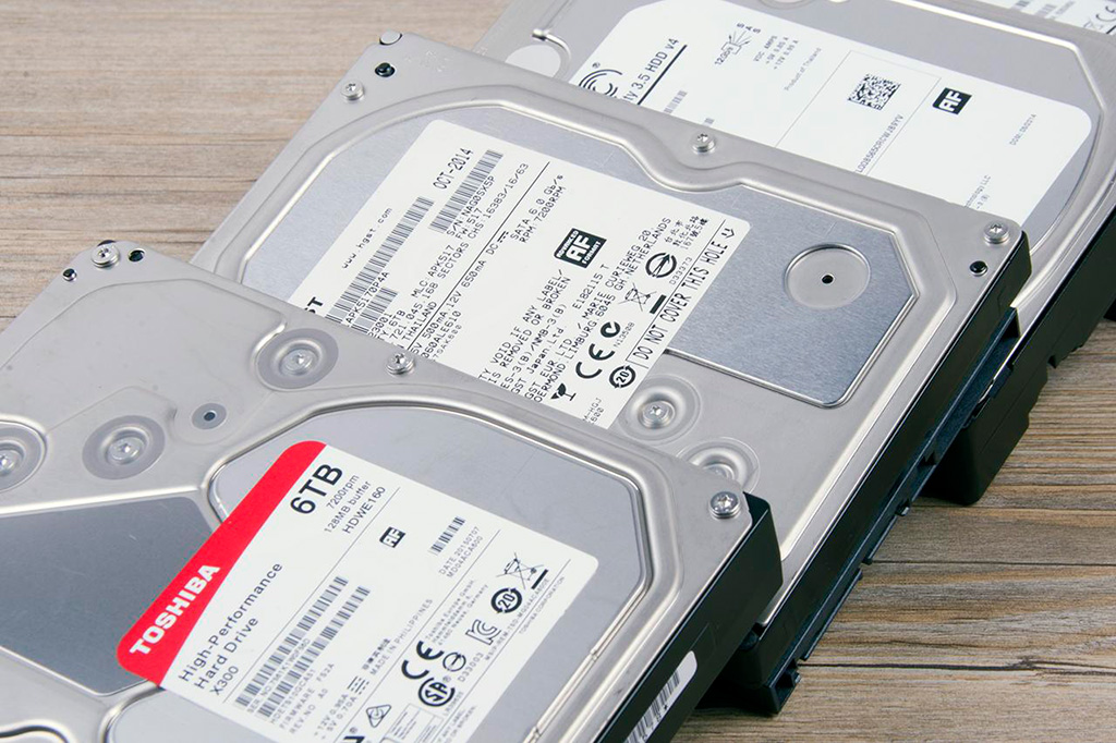 В первом квартале суммарный объём проданных HDD-дисков составил рекордные 288 эксабайт
