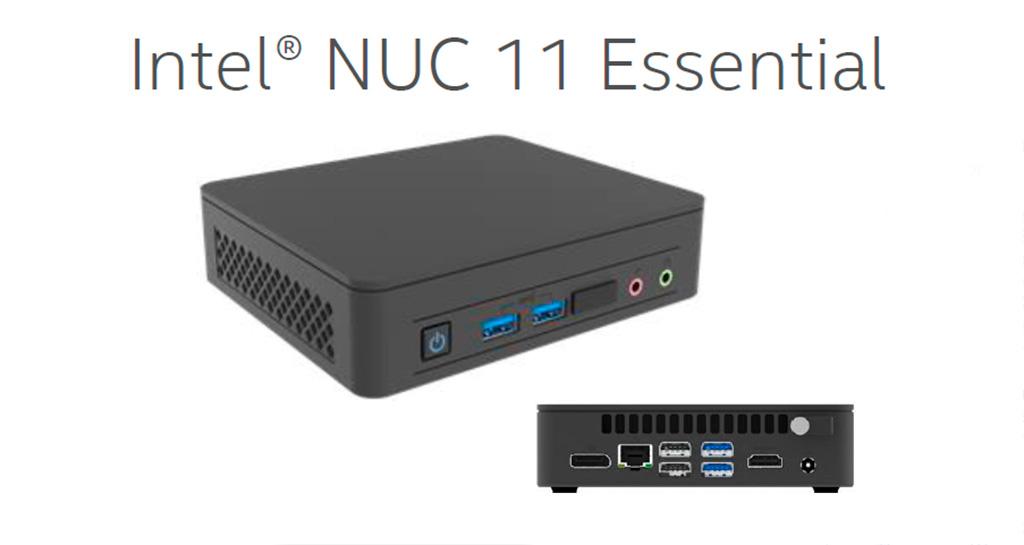 NUC 11 Essential на 10-нм процессорах Jasper Lake только прибудут в начале 2022