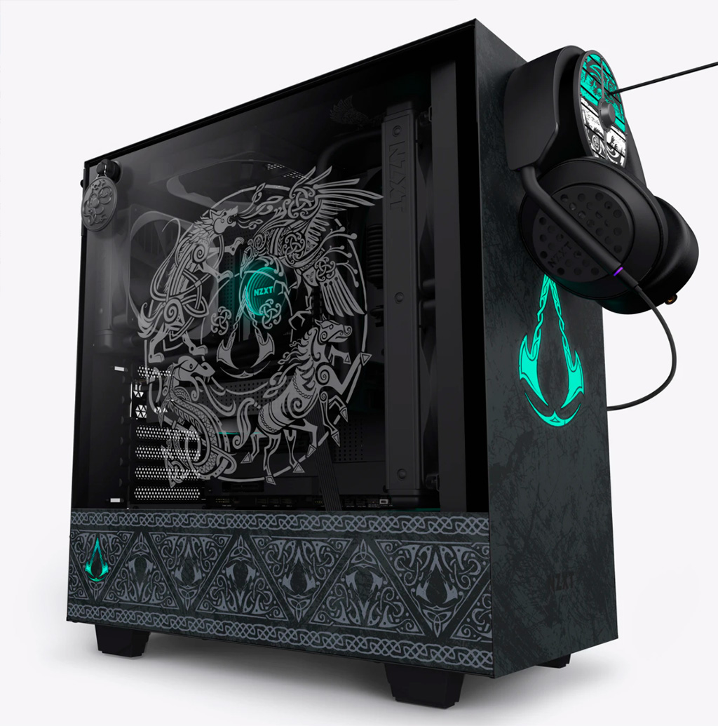 NZXT H510 стилизован под Assassin's Creed Valhalla