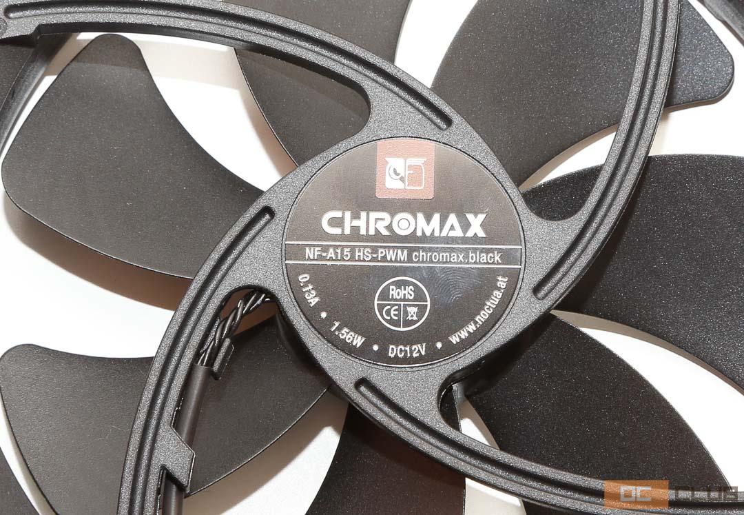 Noctua NH-D15s chromax.black: обзор. Легенда в гуталине