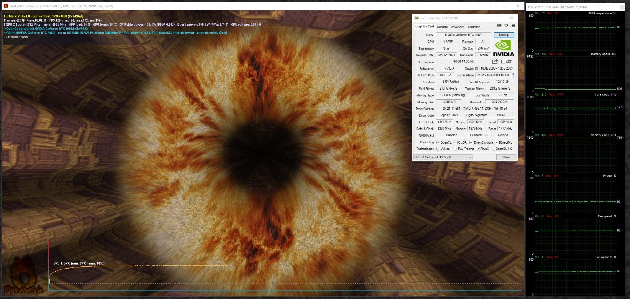 Palit GeForce RTX 3060 Dual: обзор. Необходимое и достаточное