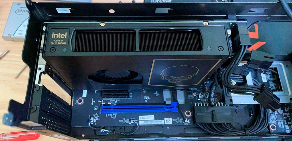 Мини-ПК Intel NUC 11 Extreme (Beast Canyon) оснащается процессором Core i9-11900KB