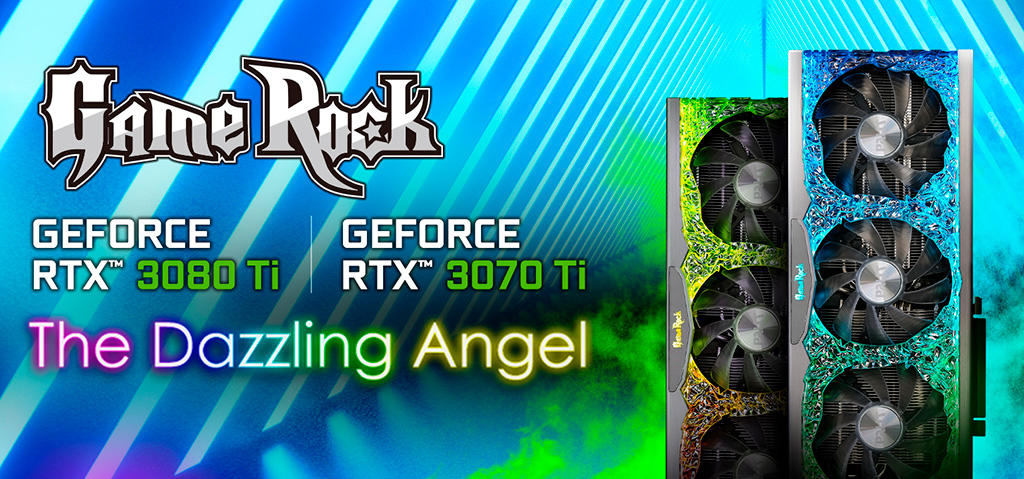 Palit показала RTX 3070 Ti и RTX 3080 Ti в модификациях GameRock и GamingPro