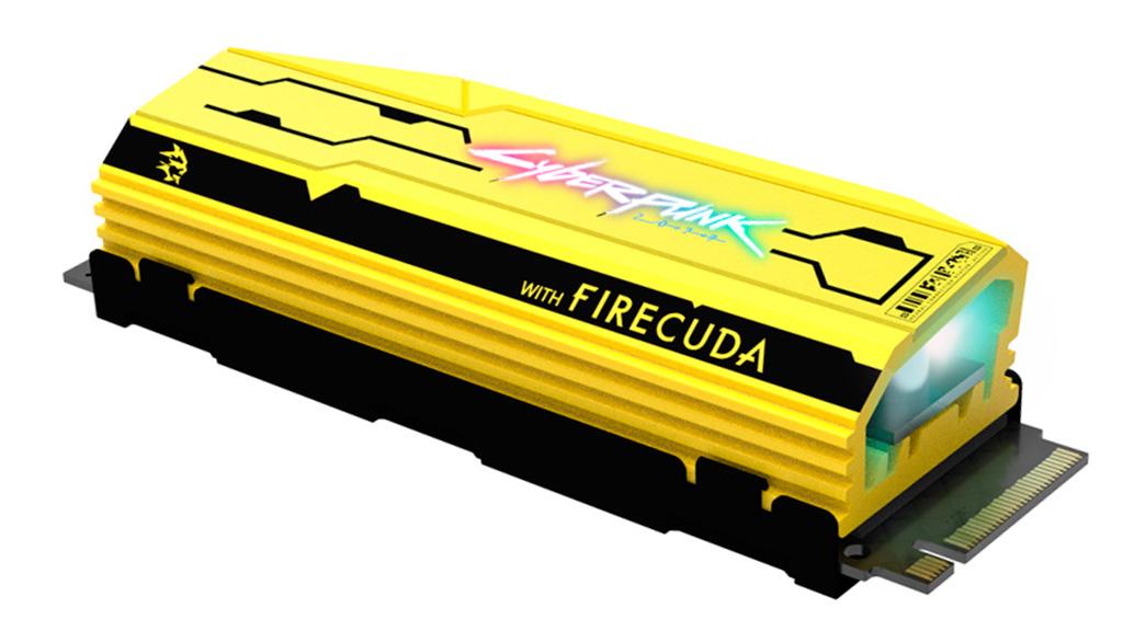 Накопитель Seagate FireCuda 520 Cyberpunk 2077 Limited Edition выйдет тиражом в 2077 экземпляров