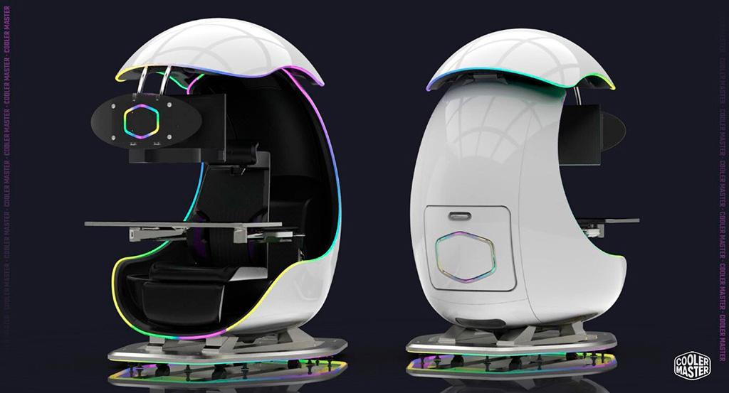 Cooler Master ORB X GamePod – игровое кресло из будущего