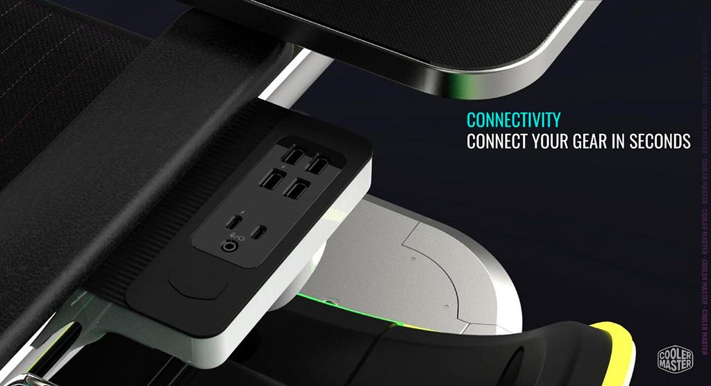 Cooler Master ORB X GamePod - игровое кресло из будущего