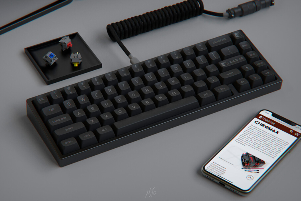 Noctua рассматривает возможность выпуска кейкапов для клавиатур