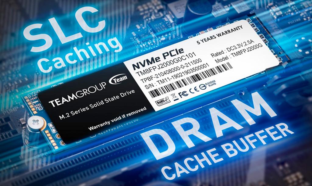 В серию NVMe-накопителей Team MP34Q вошли модели ёмкостью до 8 ТБ