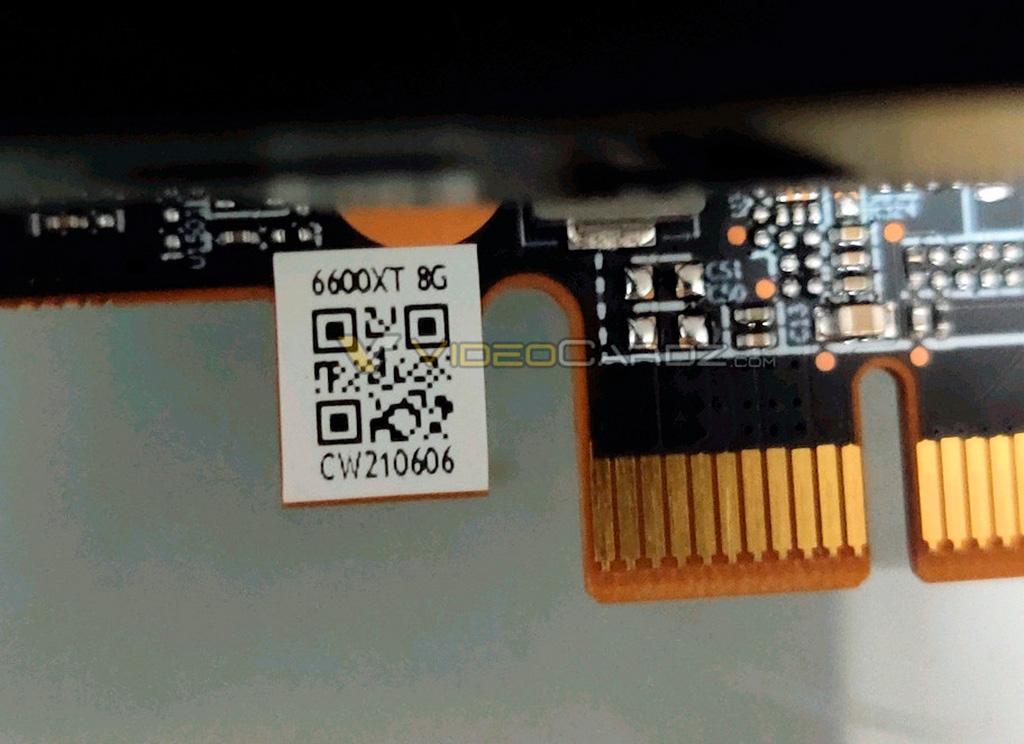 Утечка: фотографии и первые тесты AMD Radeon RX 6600 XT