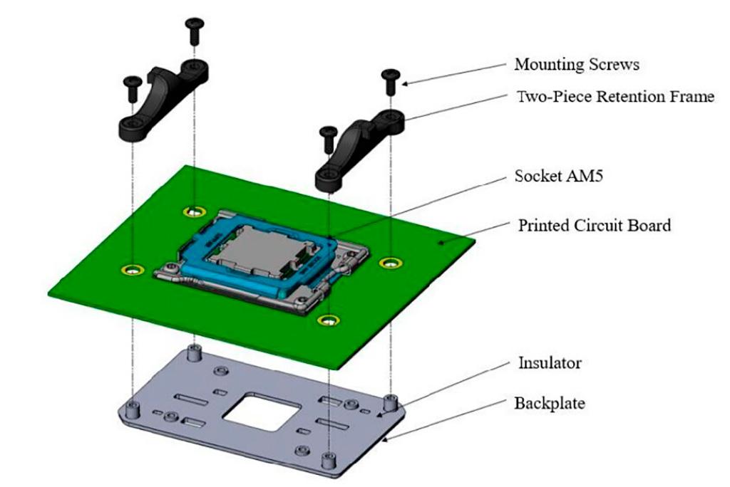 Процессорные кулеры под сокет AMD AM4 будут совместимы с AM5 (LGA1718)