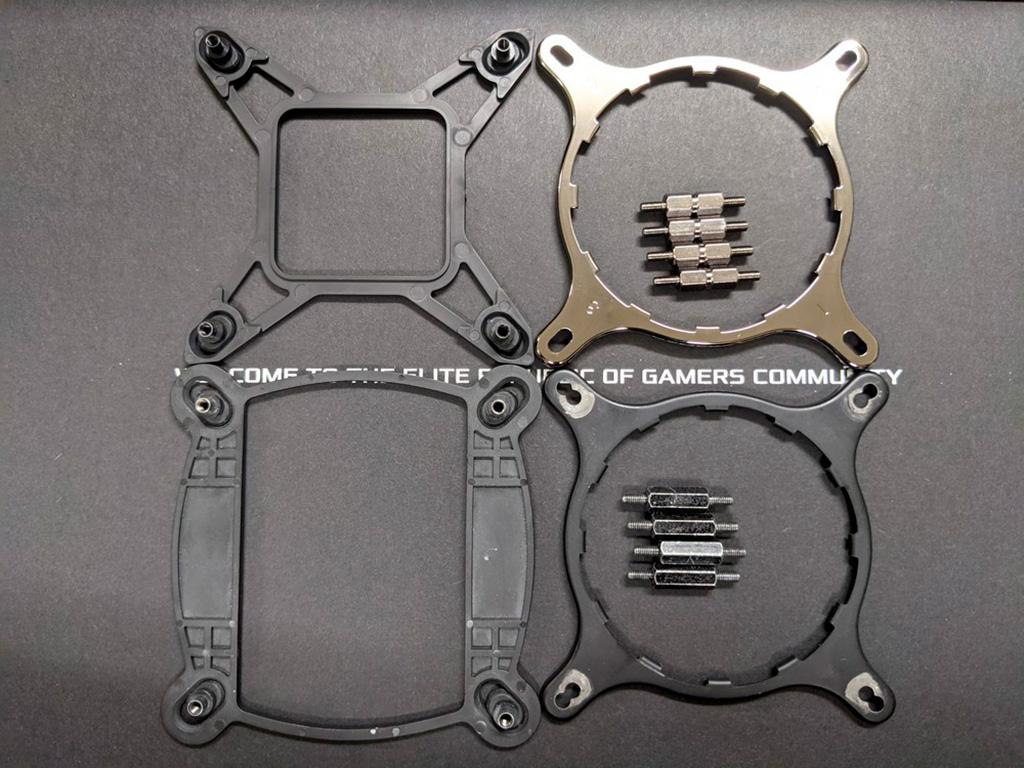 СЖО ASUS ROG Strix LC II начали комплектоваться креплениями под Intel LGA1700