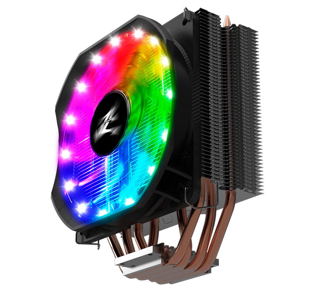 Zalman CNPS9X Optima RGB охладит 180-ваттный процессор AMD или Intel