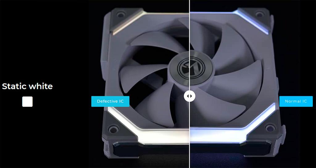Lian Li отзывает вентиляторы Uni Fan SL120 из-за проблем с подсветкой