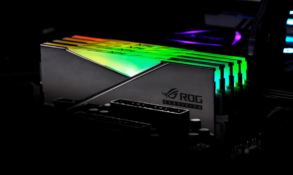 ADATA XPG предложит «оперативку» Spectrix D50 ROG в стилистике ASUS Republic of Gamers