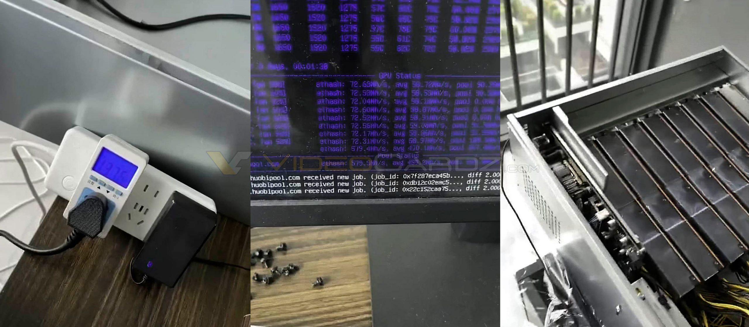 AMD BC-160 – видеокарта для майнинга с хешрейтом 72 MH/s «на эфире»