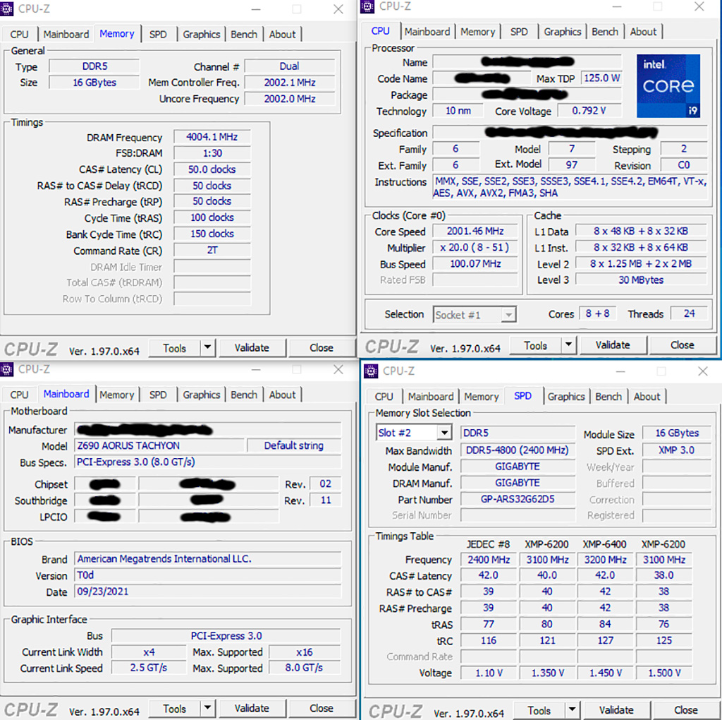 DDR5-8008 - первый рекорд разгона оперативной памяти DDR5
