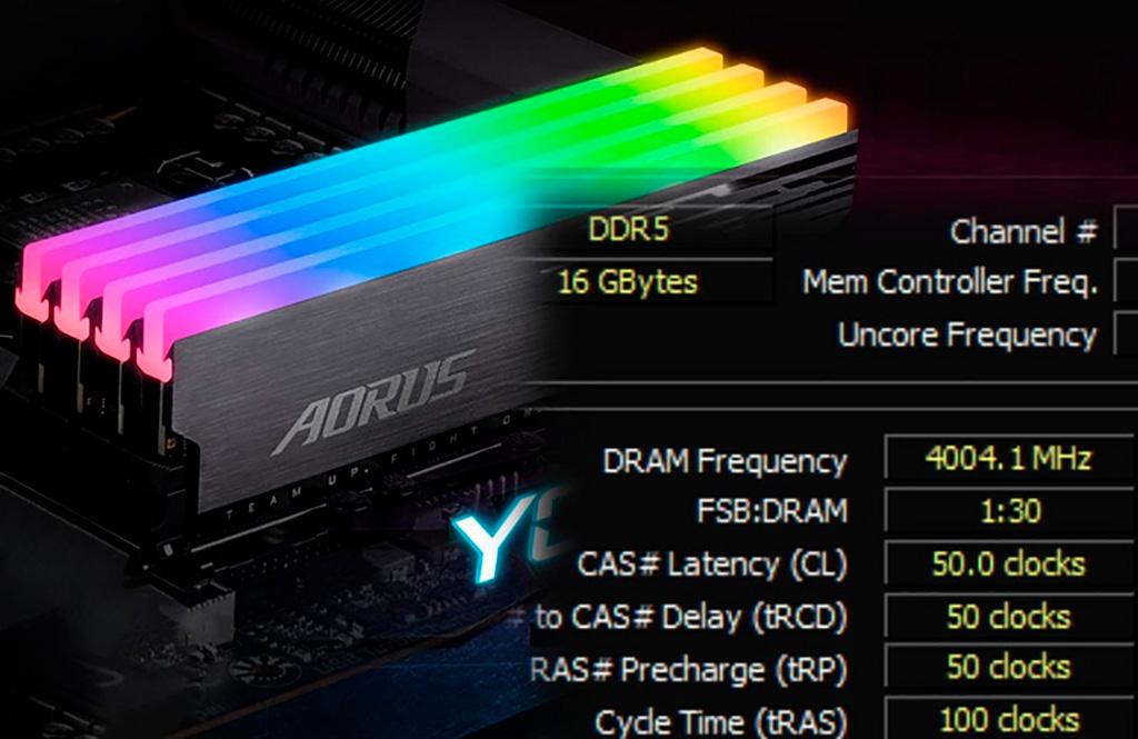 DDR5-8008 – первый рекорд разгона оперативной памяти DDR5