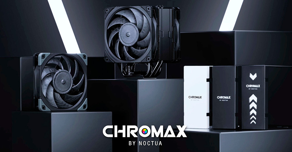 Noctua выпустила кулер NH-U12A chromax.black и 120-мм пропеллеры NF-A12x25 chromax.black