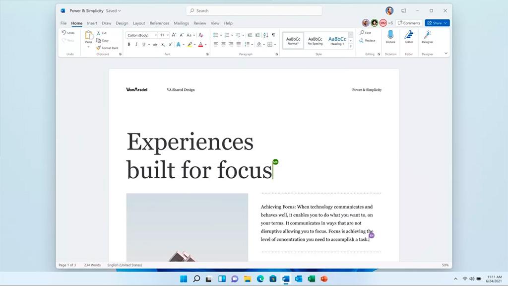Вместе с Windows 11 будет выпущен Office 2021
